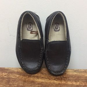 Brown loafers unisex
